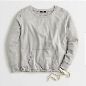 J. Crew Crewneck Pocket Sweatshirt